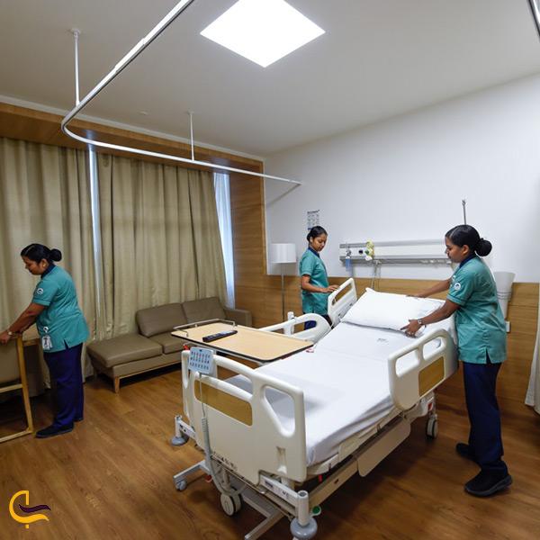 داخل بیمارستان آستر دبی