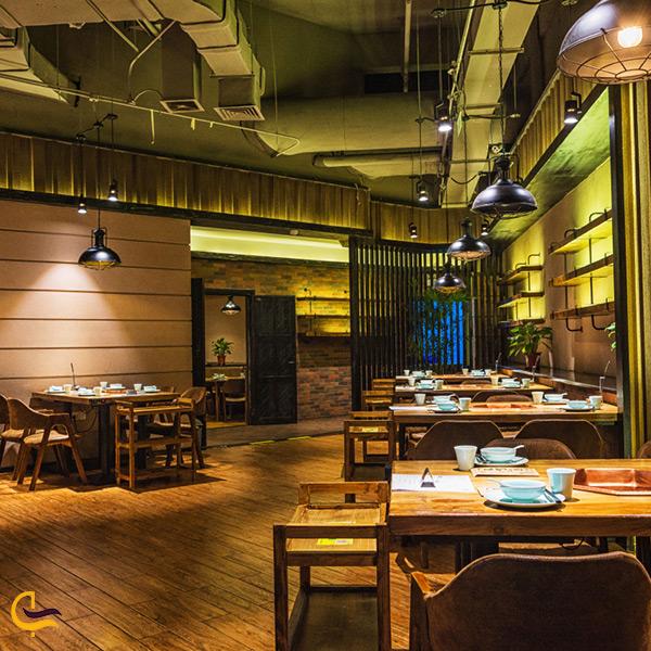 فضای داخلی رستوران و فودکورت پدیده دزفول