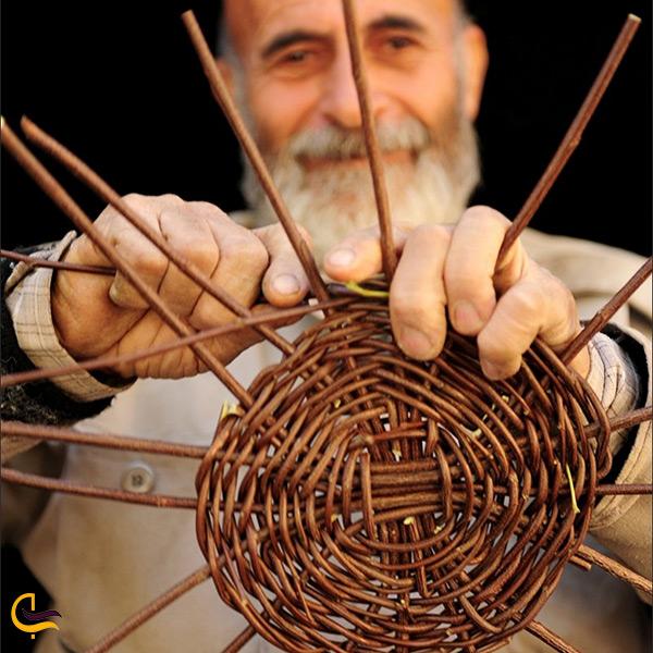 لوده بافی صنایع دستی مردم جهرم