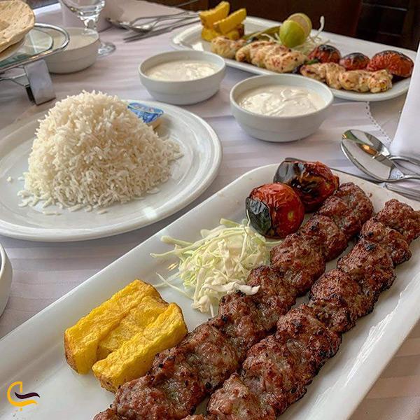 منوی کباب رستوران نایب تهران