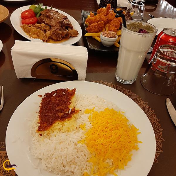 منو رستوران شاندیز جردن در تهران