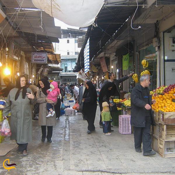 بازار نرگسیه در ساری