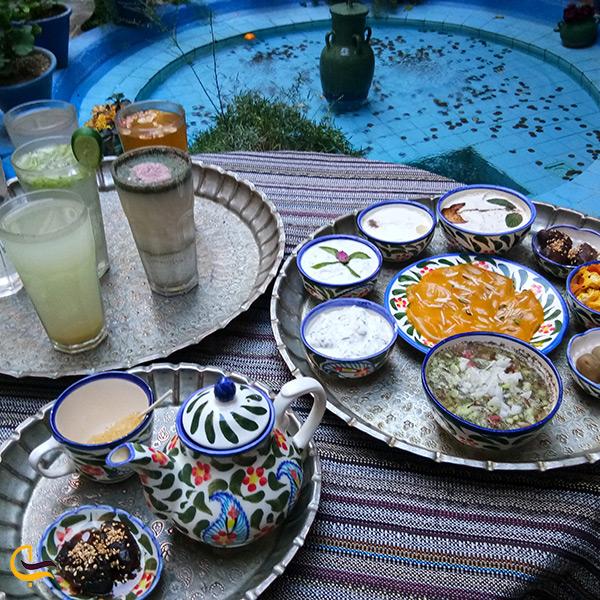 غذاهای اصیل ایرانی رستوران پرهامی شیراز