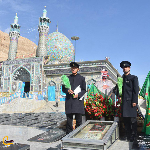 تصویر امامزاده شاهرضا در شهرضا