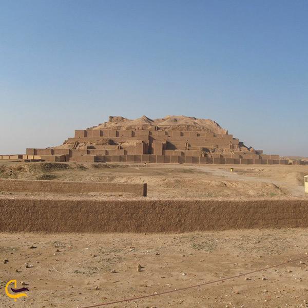 تصویر شهر باستانی چغامیش