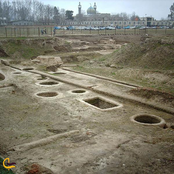 تصویر شهر باستانی جرجان