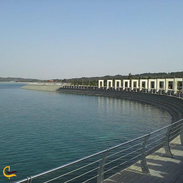 تصویر دریاچه مصنوعی گنبد کاووس