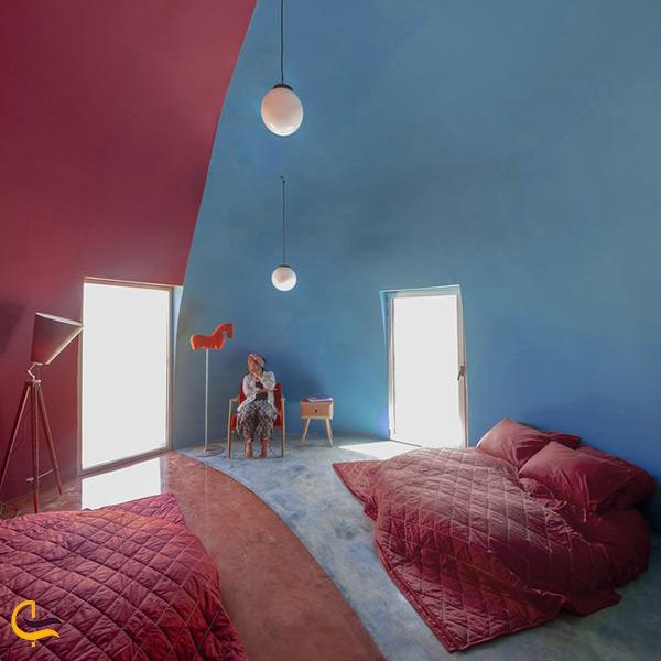 تصویر نمای داخلی اقامتگاه ماجرا