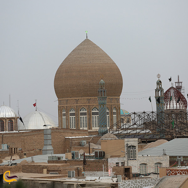 تصویر بقعه حبیب بن موسی در کاشان