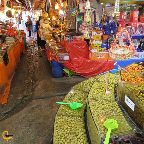 تصویر بازار روز رامسر