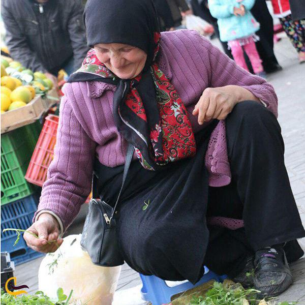 بازار روباز سنتی رامسر