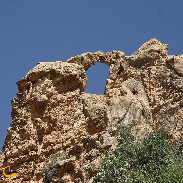 باقیمانده ی قلعه کافر گنبد کاووس