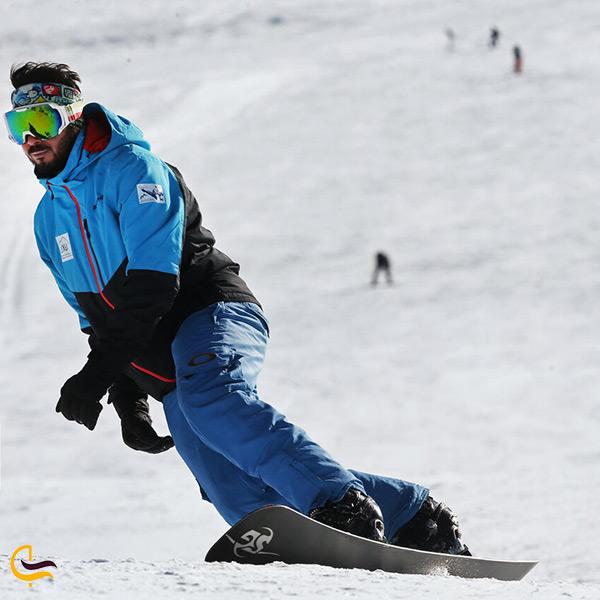 هیجان در پیست اسکی شمشک
