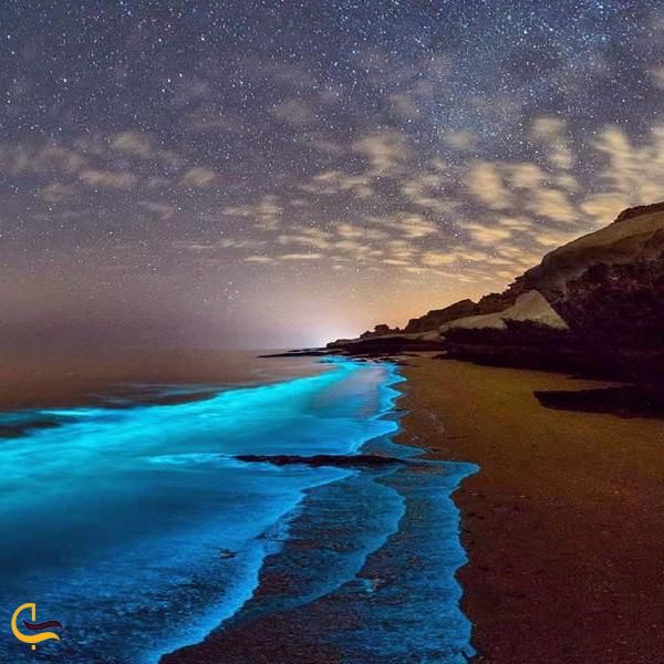 ساحل زیبای جزیره لارک قشم