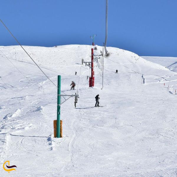 بهترین زمان اسکی در پیست اسکی خور