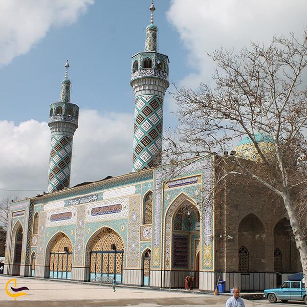بنای امامزاده یحیی بن زید