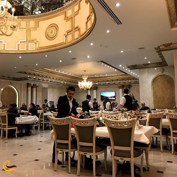 سالن اصلی رستوران شاندیز جردن