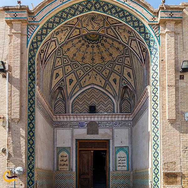 کاشی کاری های مسجد جامع کاشان