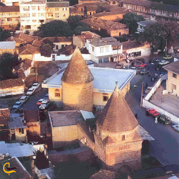 نمای بالای امامزاده یحیی ساری