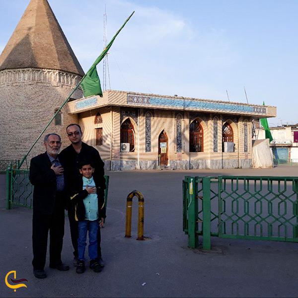 بازدید از امامزاده یحیی در شهر زیبای ساری