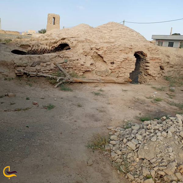 بازدید از بنای باستانی آب انبار حصار گلی در پیشوا