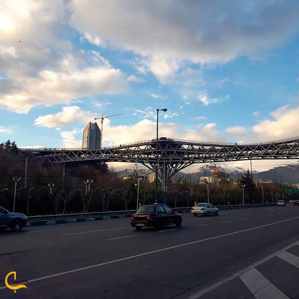 راه های دسترسی به پل طبیعت با ماشین شخصی