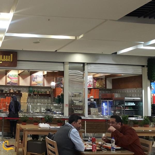 نمایی از کافه رستوران پاساژ پالادیوم تهران