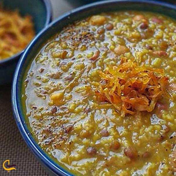آش عباسعلی غذای اصیل کرمانشاه