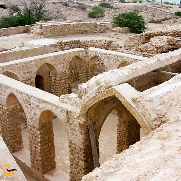 تصویری از حمام قدیمی شهر حریره