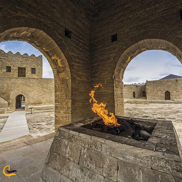 نمایی دیگر از معبد آتشگاه باکو
