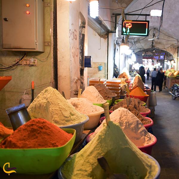 مغازه های عطاری در بازار دوقلو سیرجان