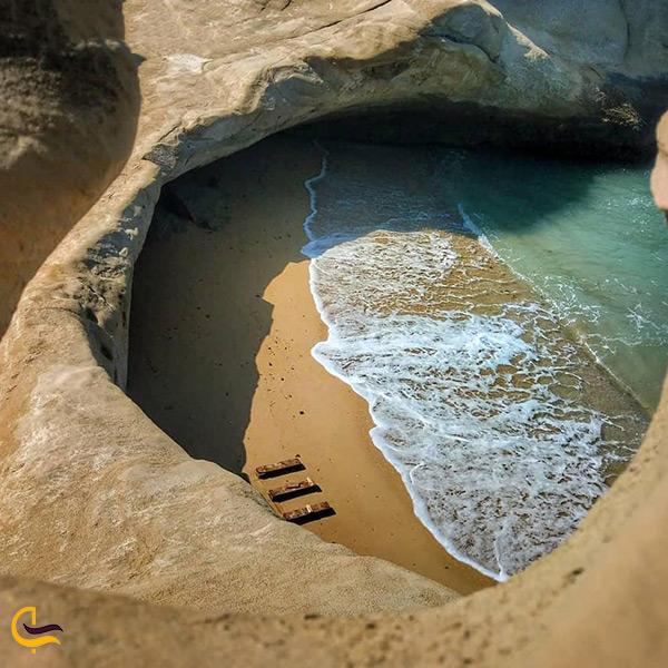 تصویر زیبا از خلیج نایبند بندرعباس