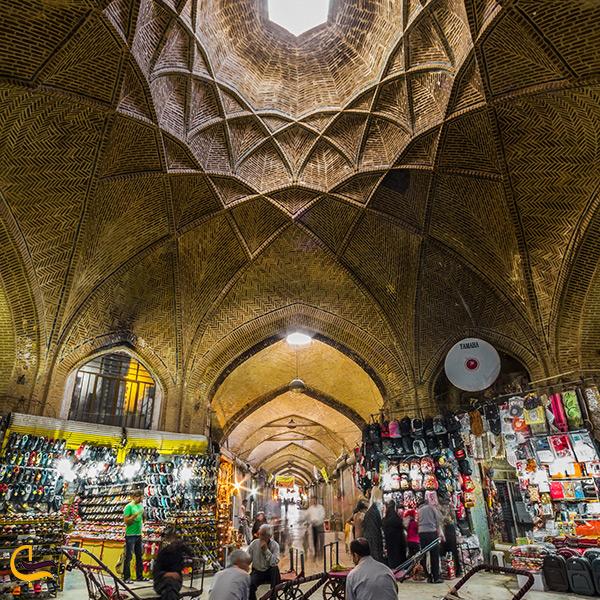 تصویر زیبا از بازار اراک