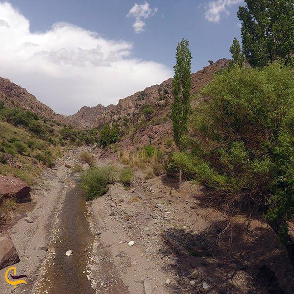 تصویر زیبا منطقه توریستی دهبکری