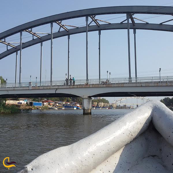 تصویر زیبا از قایق سواری در بابلرود