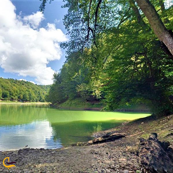 تصویری از دریاچه چورت ساری