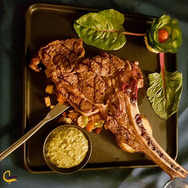نمایی از غذای رستوران تهران VIP