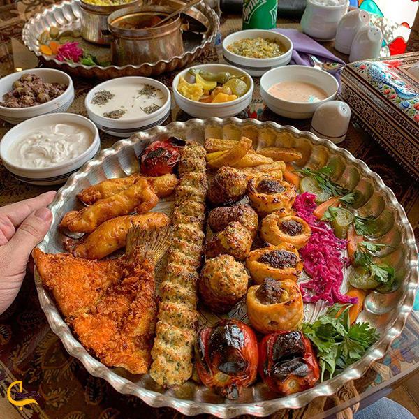 منو خوشمزه رستوران ایرانی موژان