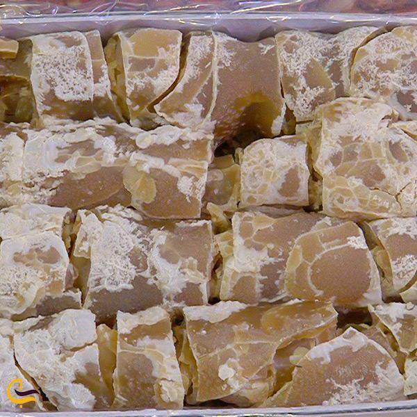 باسلوق شیرینی خوشمزه شهر مراغه