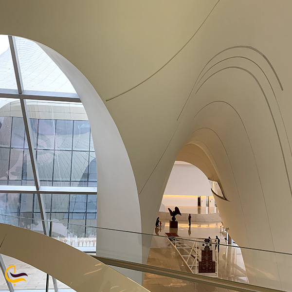 طراحی و معماری مرکز فرهنگی حیدر علی اف در باکو