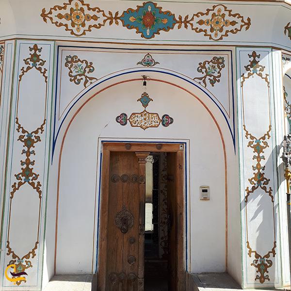 درب ورود به خانه ملاباشی در اصفهان
