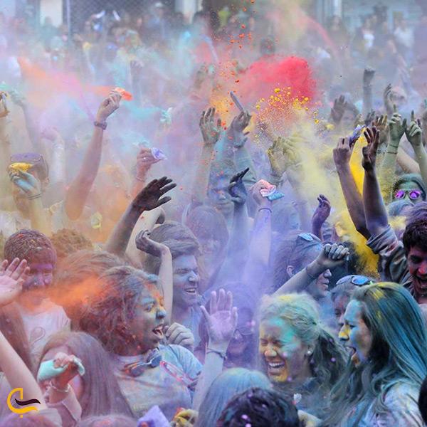 فستیوال رنگ دبی