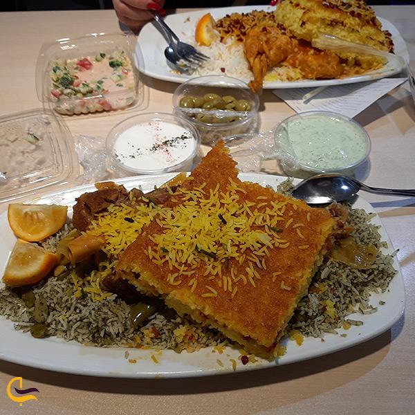 غذاهای معروف و خوشمزه رستوران مسلم در بازار تهران
