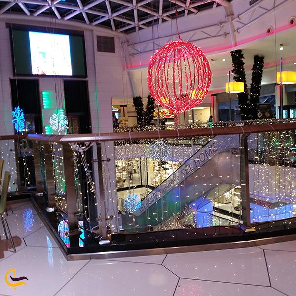 طبقات مرکز خرید مترو پارک در باکو آذربایجان