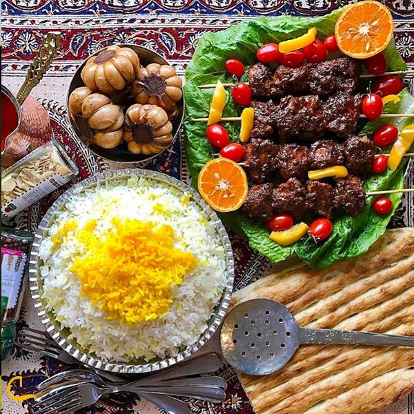 تصوری از رستوران دربند تهران
