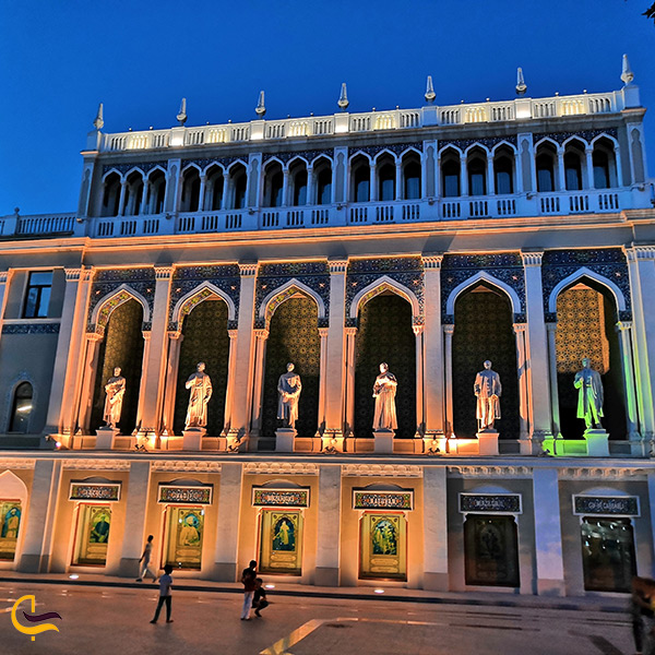 موزه ادبیات نظامی گنجوی در باکو