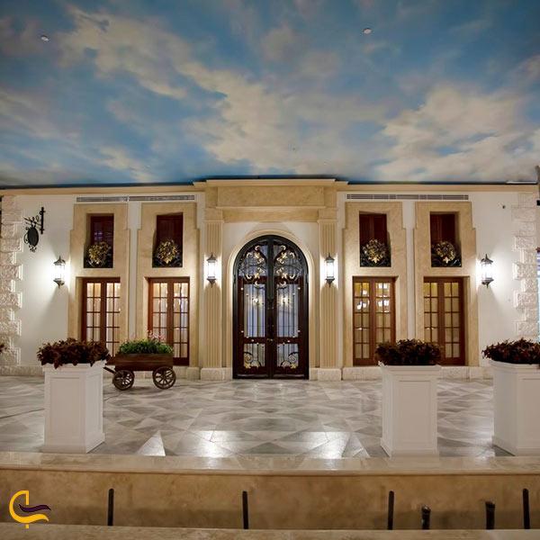 باغ رستوران ملل ایران مال