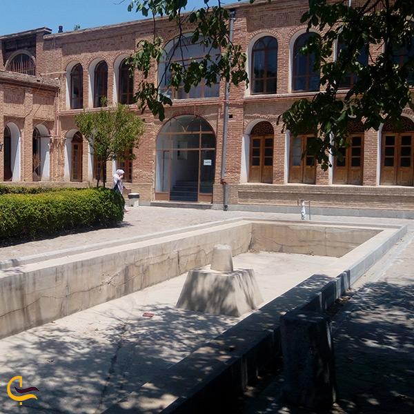 نمای کلی عمارت آصف سنندج