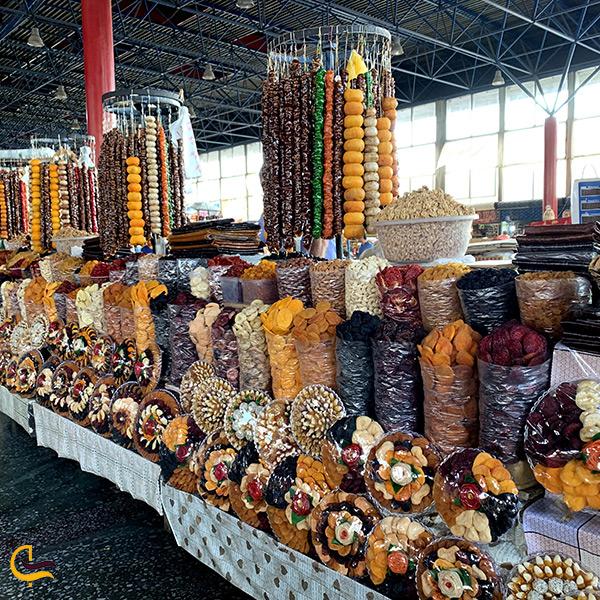 سوغاتی های خوشمزه مرکز خرید گوم شوکا در ایروان