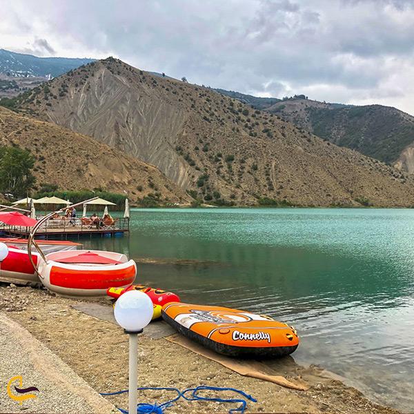 خوشگذرانی و تفریح در دریاچه ولشت